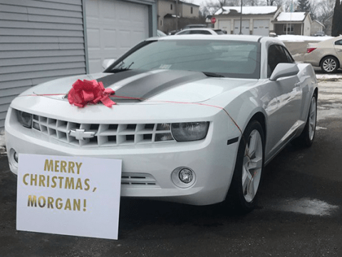 Brother pulls off hilariously cruel Christmas gift prank on his little sister