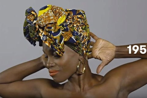 100 years of Haitian beauty trends with a suprise history lesson