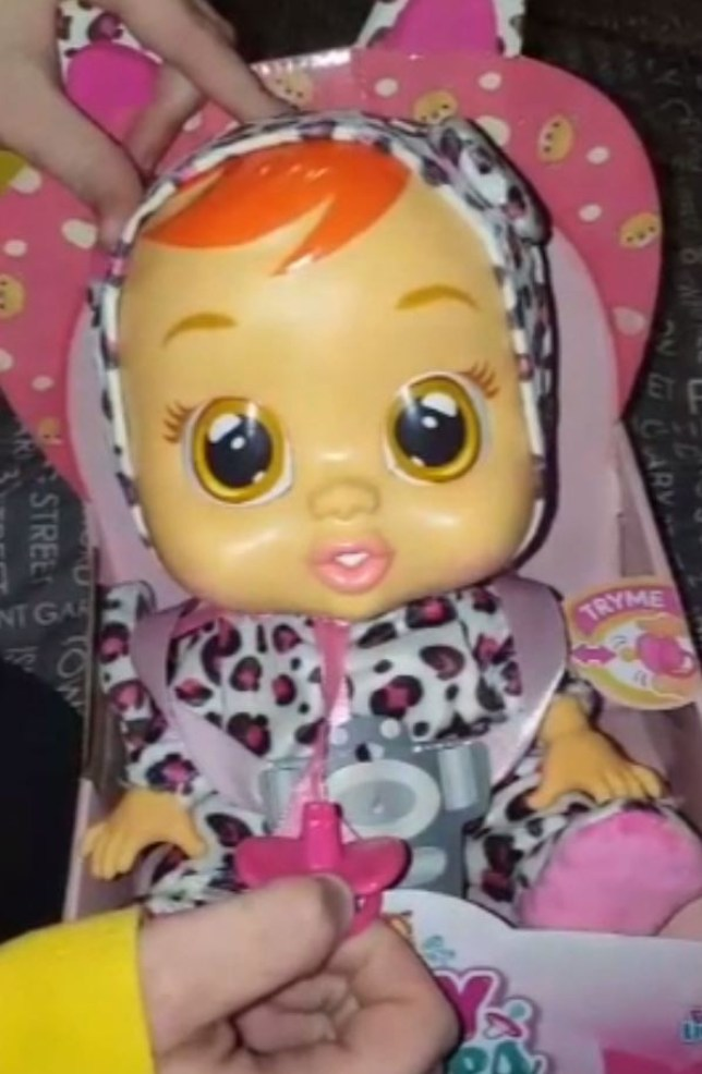 Cry Baby doll makes pornographic sex sounds – mother not