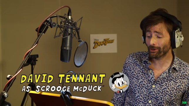 David Tennant is Scrooge McDuck (Picture: Disney)