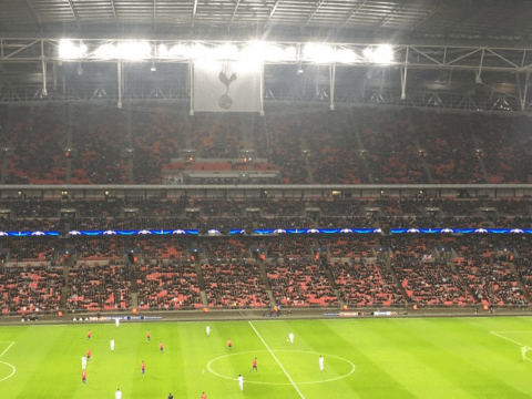 Chelsea and Arsenal fans troll Spurs for the huge No. of empty seats at Wembley