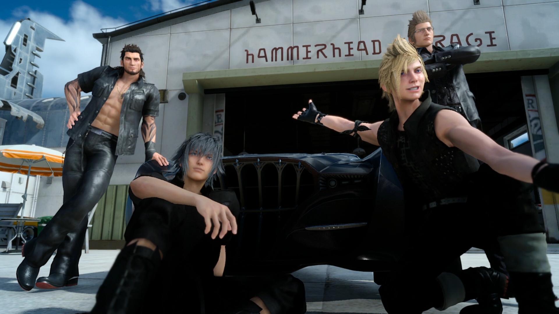 Final Fantasy XV - the boys did it!