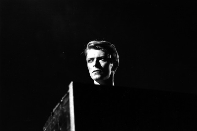 David Bowie in concert in 1978 (Photo by Evening Standard/Getty)