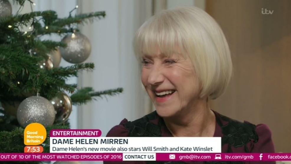 Dame Helen Mirren admits she still has moments when she thinks she hasn't made it