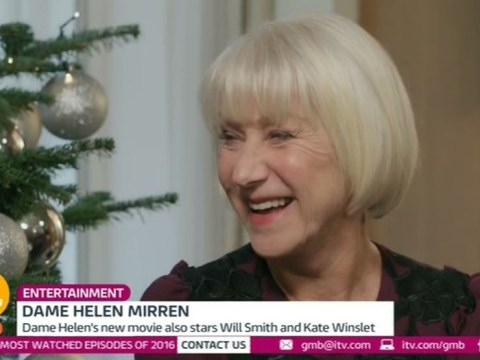 Dame Helen Mirren admits she still has moments when she thinks she hasn't made it