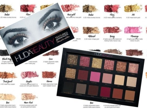 6 looks to recreate with the hot Huda Beauty Rose Gold Edition Textured Shadows Palette