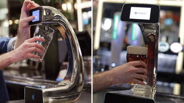 New contactless pint pump means you can go from bar to beer in 60 seconds