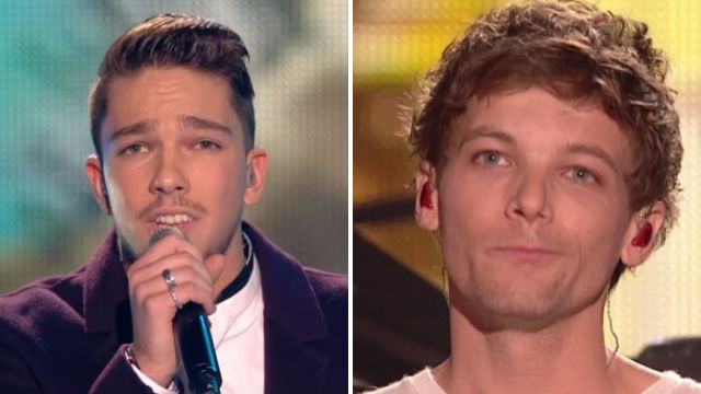 Matt Terry and Louis Tomlinson are both top five in the charts – but who's in the lead?