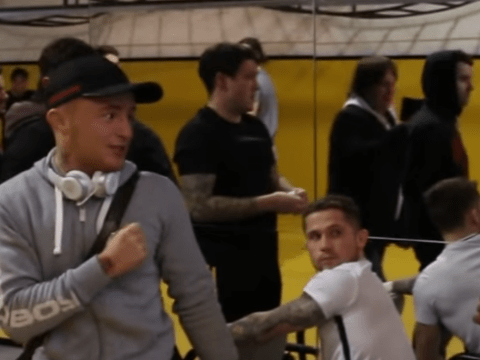 Bellator star James Gallagher involved in strange altercation with Anthony Taylor ahead of Dublin fight