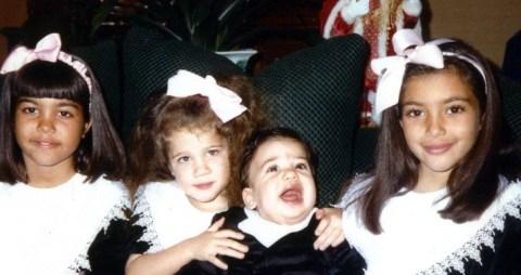 Kardashian Christmas Cards.History Of The Kardashians Christmas Cards Is A Masterclass
