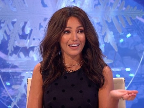 Michelle Keegan reveals the unusual name she's given to her private parts on Alan Carr's Christmas special
