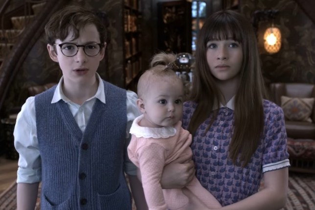Image result for lemony snicket's a series of unfortunate events