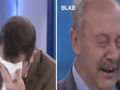 TV journalist breaks down at video of 'Syrian child being operated on without anaesthetic'