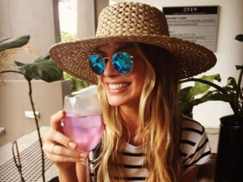 Margot Robbie responds to wedding rumours with the perfect photo