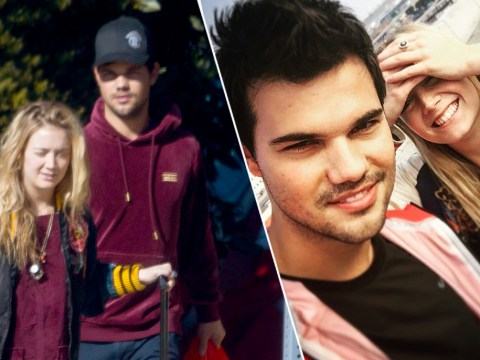 Billie Lourd gets helping hand from rumoured boyfriend Taylor Lautner after losing mum Carrie Fisher and nan Debbie Reynolds