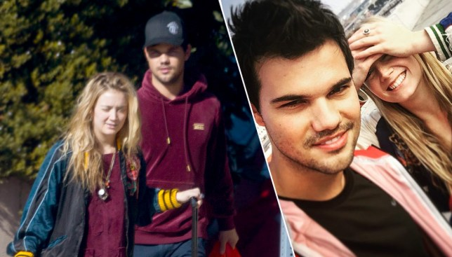 Taylor Lautner has been supporting Billie Lourd after the death of her mum Carrie Fisher and nan Debbie Reynolds (Picture: Splash/Taylor Lautner/Instagram)