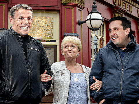 Gary and Phil Neville likened to the Mitchell brothers as row takes bizarre new twist