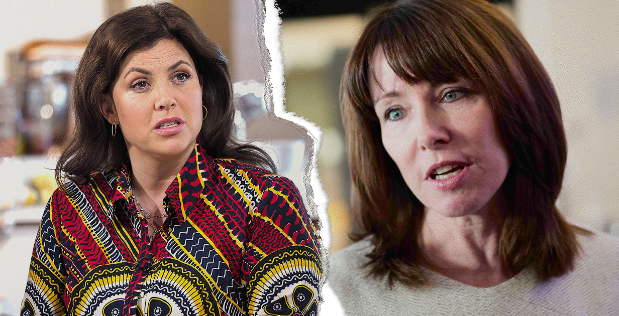 TV presenter Kirstie Allsopp trades online blows with newsreader Kay Burley over coverage of George Michael's death Picture: REX Features