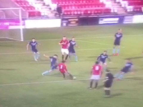 Manchester United youngster Demi Mitchell scores stunning long-range goal for Under-23s