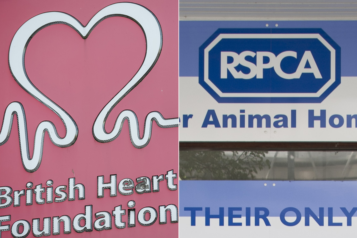 RSPCA and British Heart Foundation secretly wealth-screened donors
