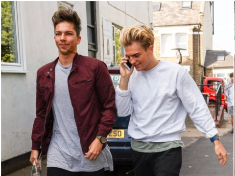 Matt Terry is moving in with Freddy Parker after denying they snogged on X Factor