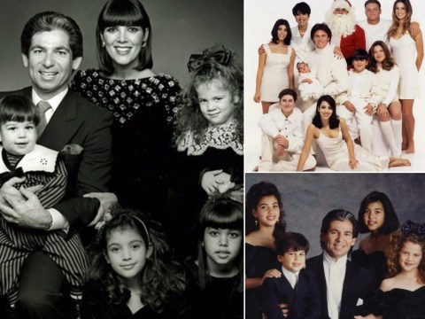 The history of the Kardashians' Christmas cards is a masterclass in absolute cringe