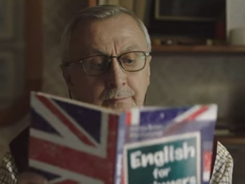 This Christmas advert for a Polish auction website has been warming hearts all round the world