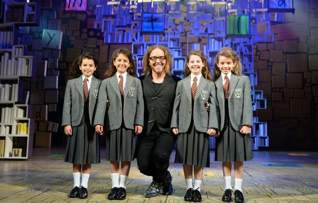 A performance of Matilda was cancelled due to cast illness in London (Picture: REX/Shutterstock)