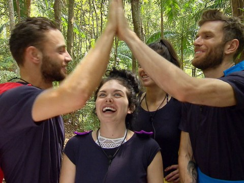 Have I'm A Celebrity contestants ever been this excited to take part in the Cyclone Challenge?