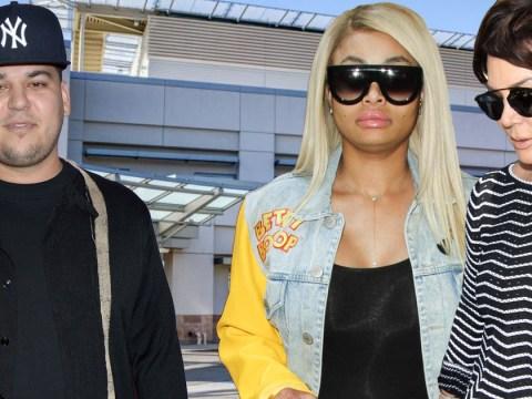 Blac Chyna and Kris Jenner rush to emergency room as Rob Kardashian 'is hospitalised'