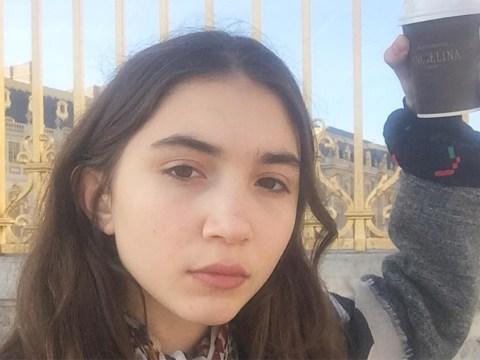 Rowan Blanchard's light poke at beauty vloggers is on point