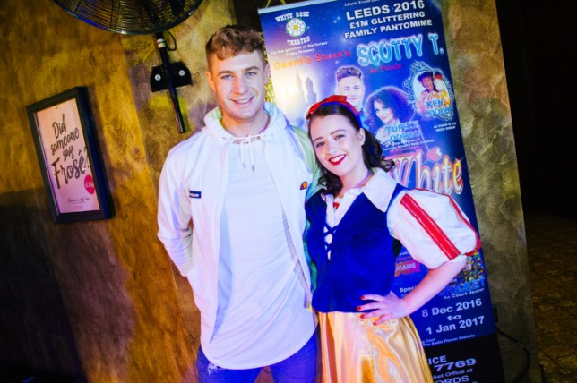 Scotty had appeared in Panto at the White Rose Theatre Company (Picture: White Rose Theatre)