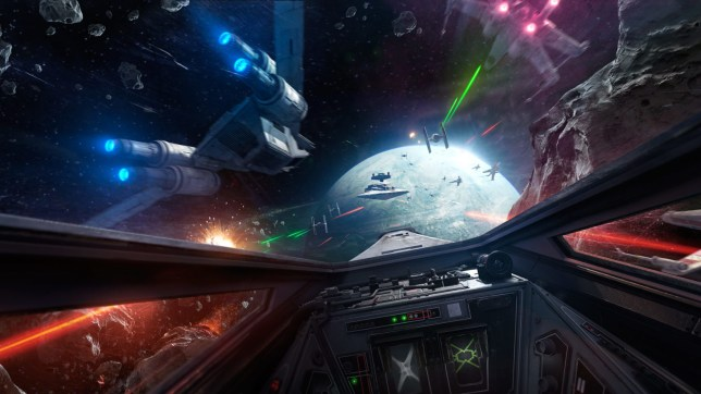 X-Wing VR Mission (PSVR) - putting you in the cockpit