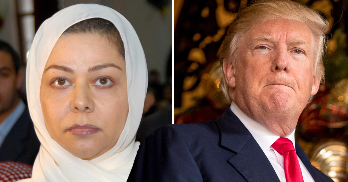 Saddam Hussein's daughter praises Donald Trump for his 'political sensibility'