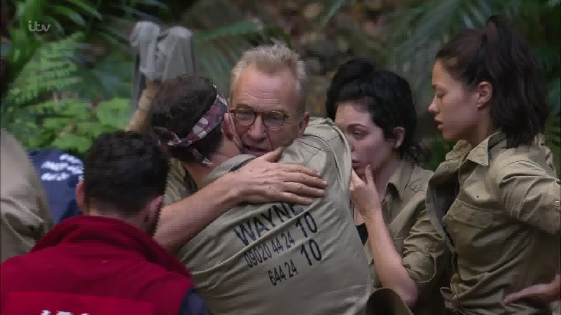 Larry Lamb has been evicted from I'm A Celebrity (Picture: ITV)