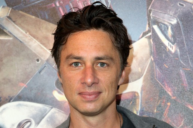 LOS ANGELES, CA - JUNE 17: Actor Zach Braff visits the Destiny Booth during E3 2015 at Los Angeles Convention Center on June 17, 2015 in Los Angeles, California. (Photo by Imeh Akpanudosen/Getty Images for Activision)