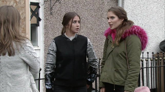 FROM ITV  STRICT EMBARGO - No Use Tuesday 31 January 2017 Coronation Street - 9096 Wednesday 8 February 2016  Having been released by the police Sophie Webster in a manner which alters the visual appearance of the person photographed deemed detrimental or inappropriate by ITV plc Picture Desk. This photograph must not be syndicated to any other company, publication or website, or permanently archived, without the express written permission of ITV Plc Picture Desk. Full Terms and conditions are available on the website www.itvpictures.com