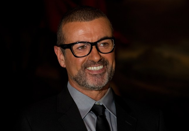 """British singer George Michael attends a press conference at the Royal Opera House, central London on May 11, 2011. The event was to announce his """"Symphonica"""" European tour which is set to visit historic venues such as Prague's State Opera House, Paris' Palais Garnier and London's Royal Opera House. AFP PHOTO/Leon Neal (Photo credit should read LEON NEAL/AFP/Getty Images)"""