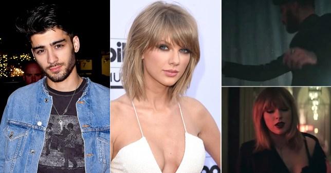 Taylor Zayn music video Credit Getty/Instagram/Taylor Swift
