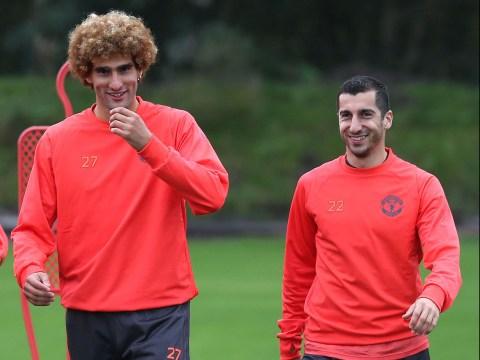 Marouane Fellaini and Henrikh Mkhitaryan are relishing Manchester United's 'winning mentality'