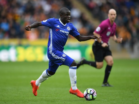 Chelsea's N'Golo Kante surprisingly only second in tackles made in 2016
