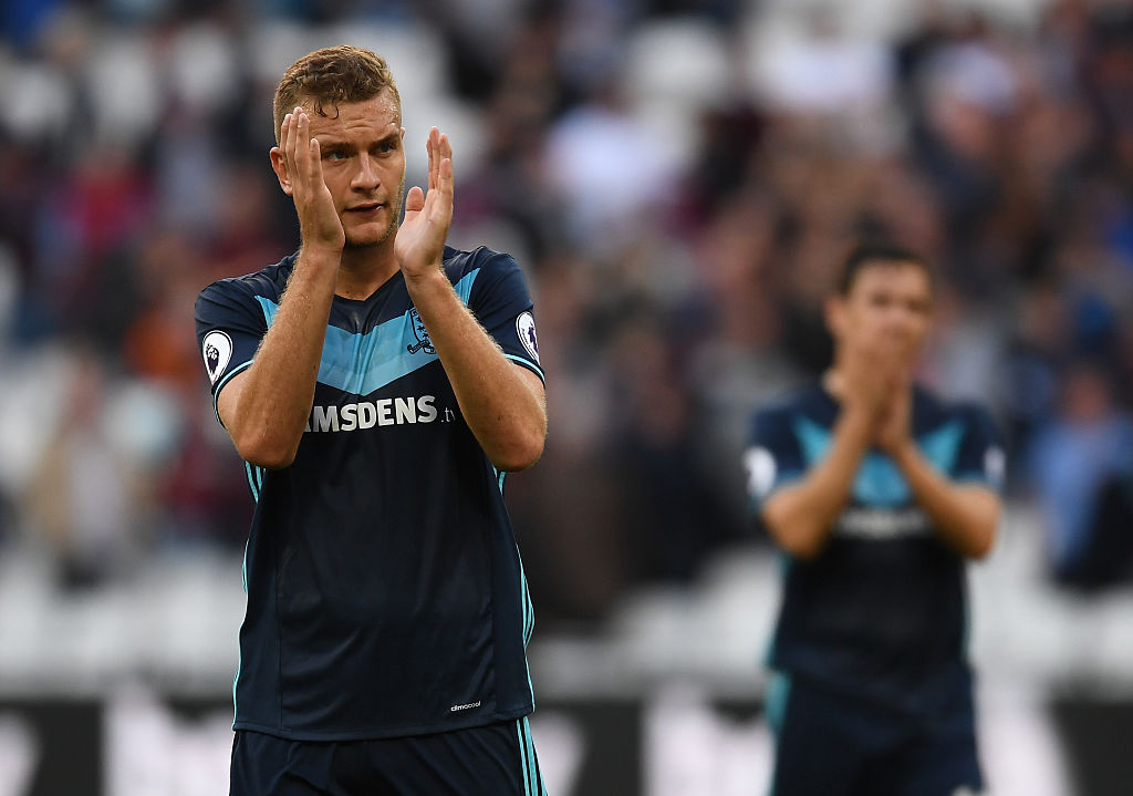 Chelsea eye transfer of Middlesbrough's Ben Gibson as John Terry's successor
