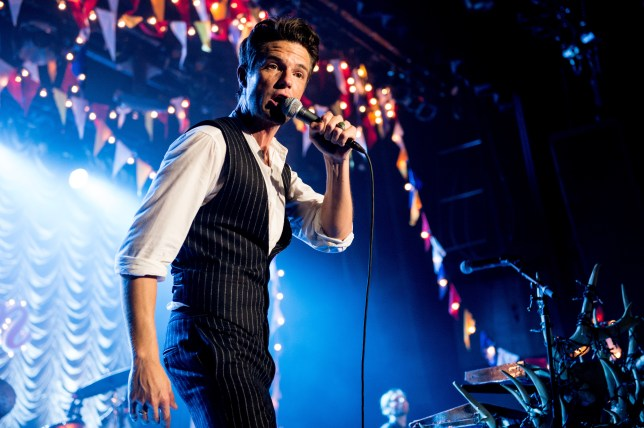 brandon flowers from the music group the killers