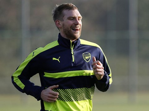 Arsenal set to open contract talks with Per Mertesacker