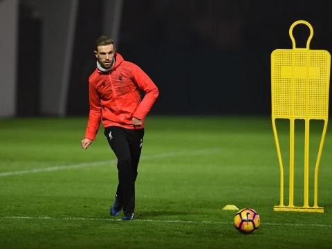 Liverpool duo Jordan Henderson and Joel Matip set to return to full training ahead of Manchester United clash