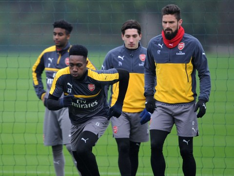 Arsene Wenger admits he could rush Danny Welbeck back to action for Arsenal