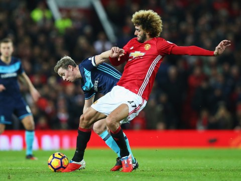 Jose Mourinho singles out Marouane Fellaini following Manchester United win over Middlesbrough