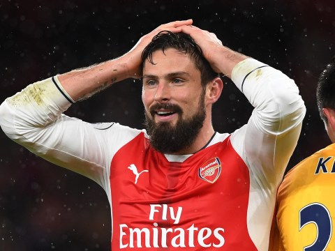 Olivier Giroud's scorpion kick goal for Arsenal down to luck, says Jamie Redknapp