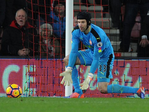 Arsenal ace Petr Cech appears to abdicate responsibility for lack of clean sheets