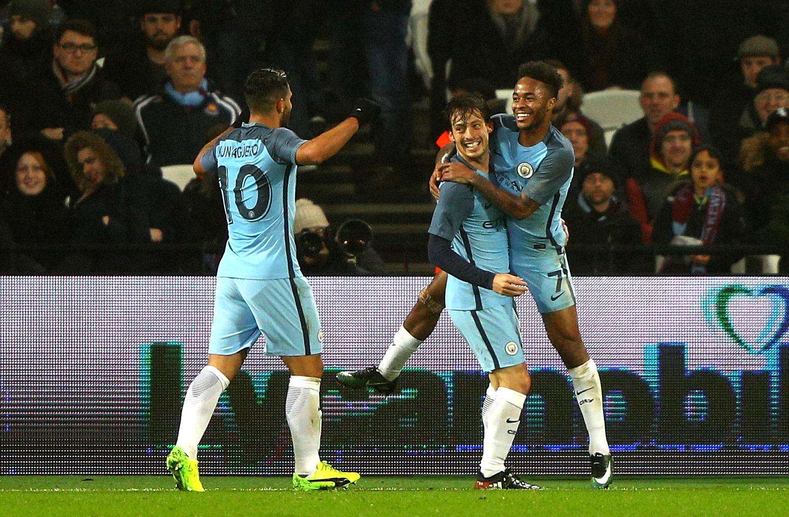 West Ham 0-5 Man City player ratings: David Silva stars to pile pressure onto Slaven Bilic